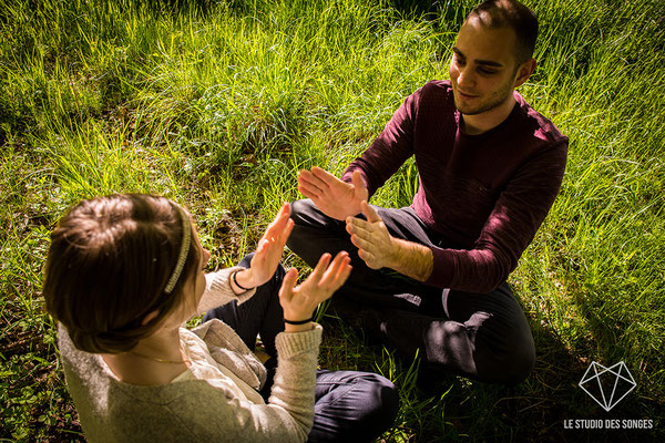 Séance Engagement - Avant mariage - Amoureux - Le Studio des Songes - Anne-Sophie CAMBEUR