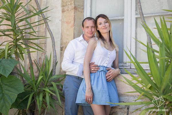 Séance Engagement - Dijon - Longecourt en Plaine - Bourgogne - Anne-Sophie Cambeur photographe