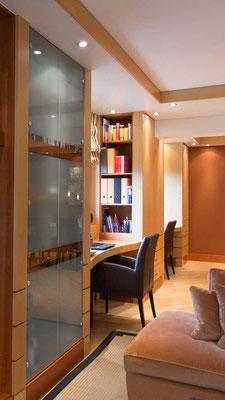 Innenausbau vom Wohnzimmer