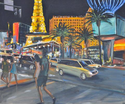 Las Vegas, Acryl auf Leinwand, 100 x 120 cm, 2013
