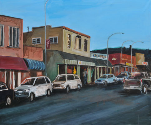 USA, Acryl auf Leinwand, 80 x 100 cm, 2014
