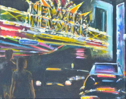 Las Vegas, Acryl auf Leinwand, 40 x 50 cm, 2013, verkauft