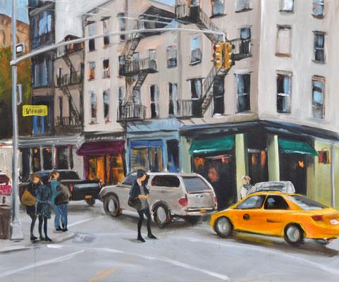 New York, Acryl auf Leinwand, 100 x 120 cm, 2015