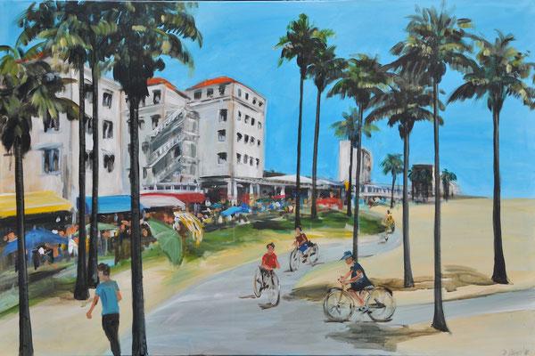 Kalifornien, Acryl auf Leinwand, 100 x 150 cm, 2014
