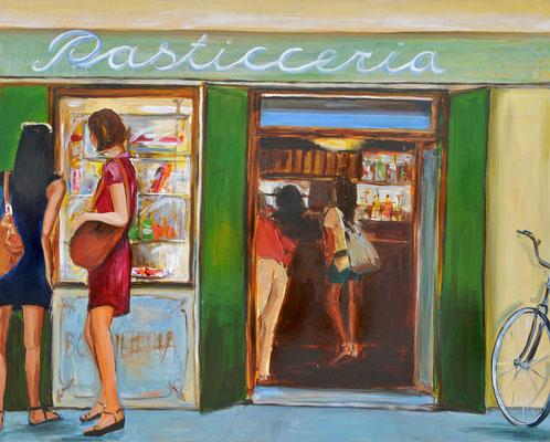 Pasticceria, Acryl auf Leinwand, 80 x 100 cm, 2014