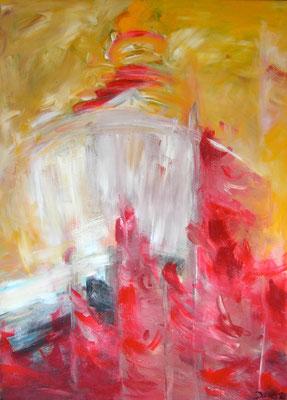 Tschorten, Acryl auf Leinwand, 160 x 120 cm, 1992, verkauft