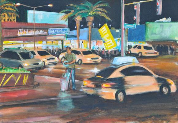 Las Vegas, Acryl auf Leinwand, 70 x 100 cm, 2013