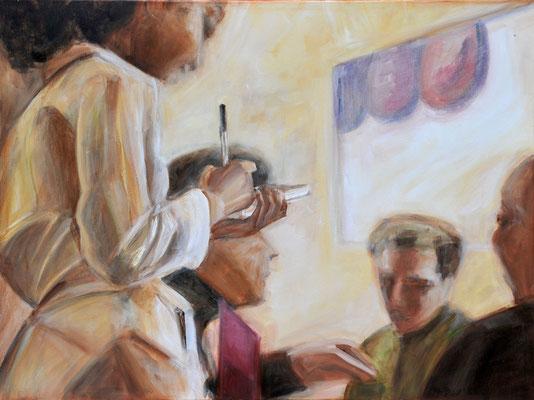 Bestellung, Acrylmalerei, 70 x 90 cm, 2009