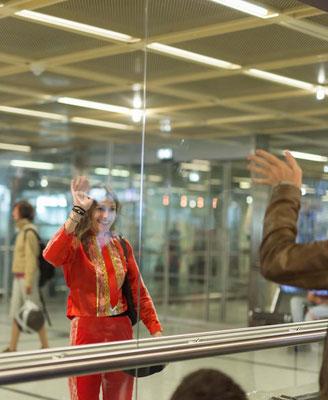 aéroport saint-aignan de grand lieu photographe mariage evjf franco espagnol nantes orlane-photos.com