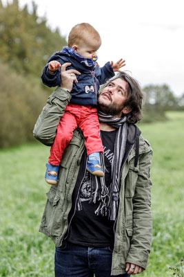 Séance photos en famille Nantes la Chevrolière photographe Orlane Boisard