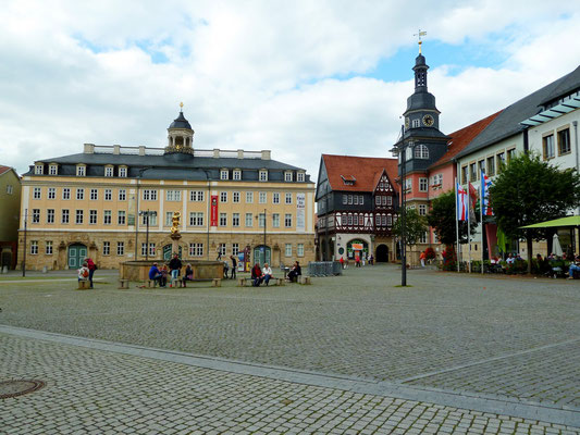 Foto: Frank Rockstuhl / Eisenach / Marktplatz