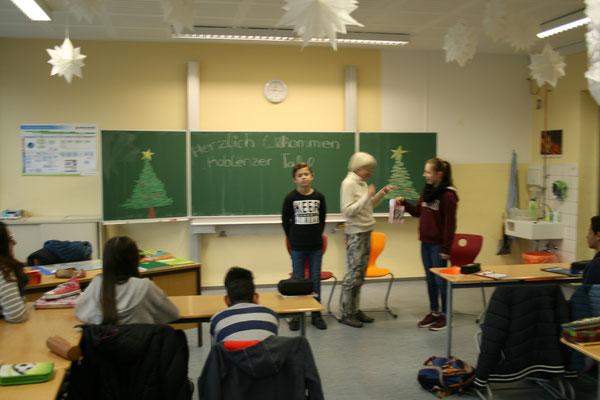 Koblenzer Tafel zu Gast in Klasse 8c