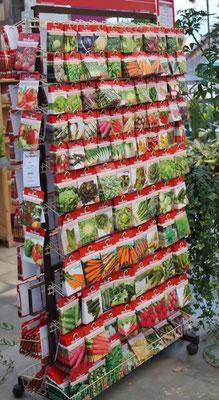 Sämereien - Gemüse, Blumen, Kräuter, Saatbänder