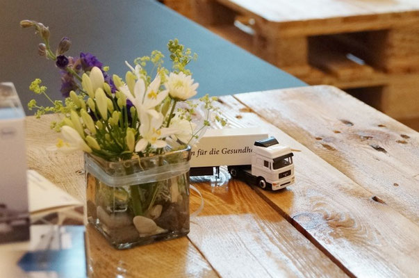 Blumen für Lounge