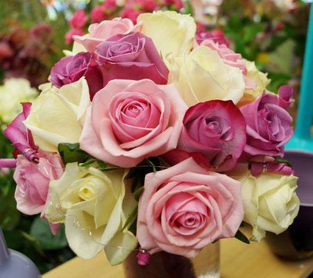 Rosen in 3 Farben