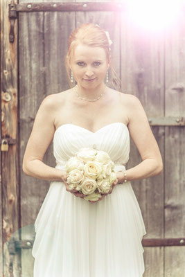 Eine wunderschöne Braut