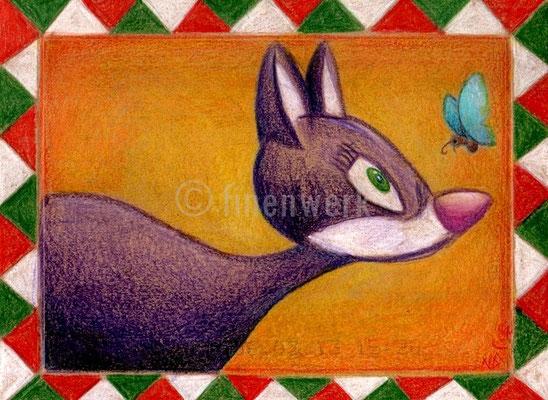 italienische muschi, zeichnung,