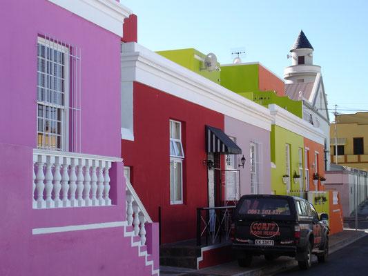 Berühmtes Quartier in Kapstadt: Bo-Kaap
