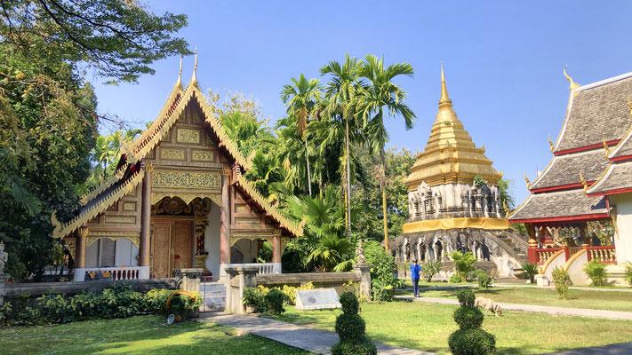 Wat Chiang Man, wunderschön