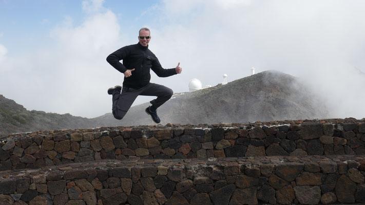 Observatory, Roque de los Muchachos, 2400müM, Insel La Palma, Kanarische Inseln, März 2019