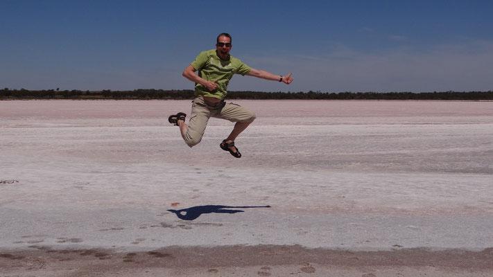 Salzsee im Murray Sunset National Park, Australien 2012