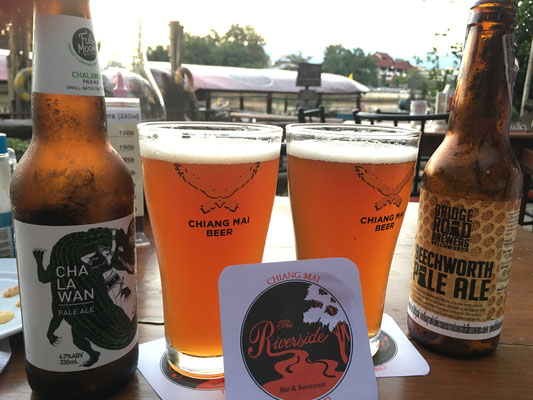 Craft Beer gibts auch in Chiang Mai