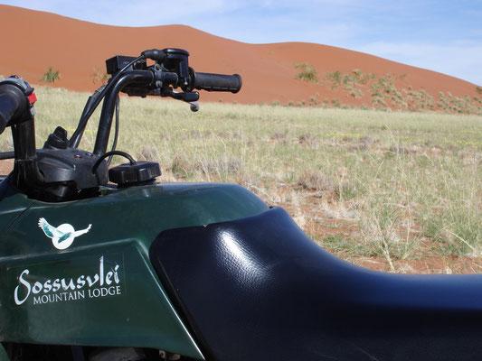 Mit einem ATV-Ausflug in die Dünen