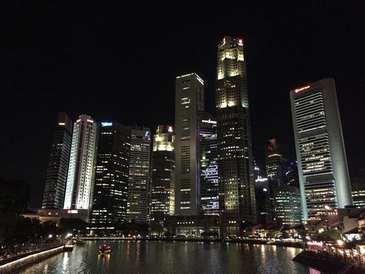 Zurück im Singapur