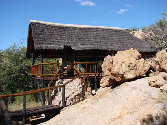 Los gehts, in die Erongo Wilderness Lodge