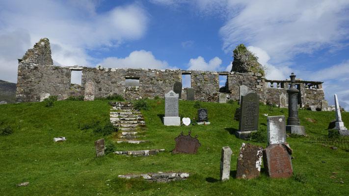 Ruine auf der Insel Skye