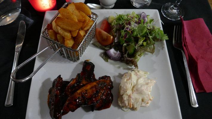 Abendessen in Arisaig