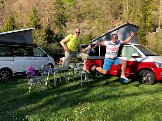Bulli-Roger-Roger-Gäste-Jump, Yvorne, Waadt, Ostern 2019