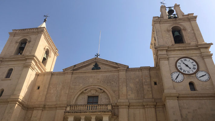 Die berühmte St. Paul Kirche