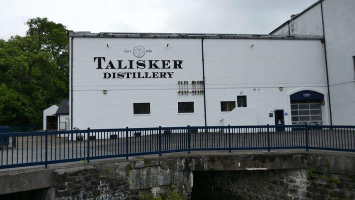 Besichtigung der bekannten Talisker Whisky Distillerie