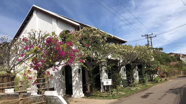 Unser Hotel in Champasak, Laos