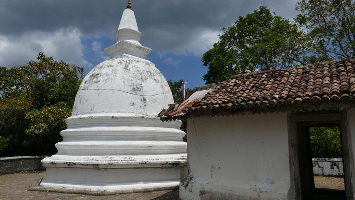 Nach über 500 Treppenstufen sind wir zuoberst im Tempelareal angekommen