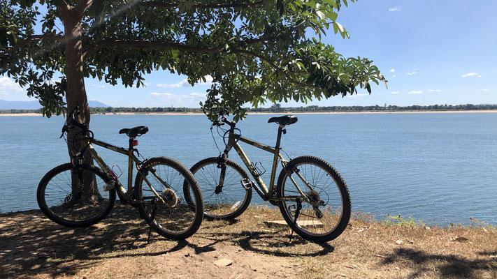 Unterwegs mit dem Bike