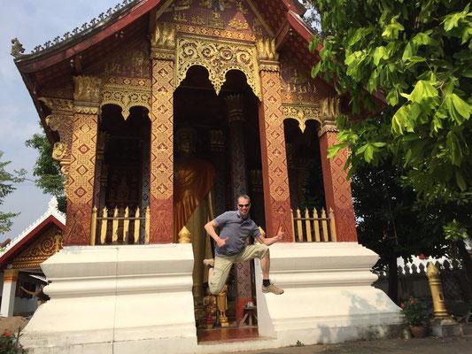 Wat Sensou Kharam in Luang Prabang, Januar 2016