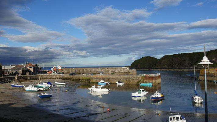 Im schönen kleinen Küstenort Stonehaven
