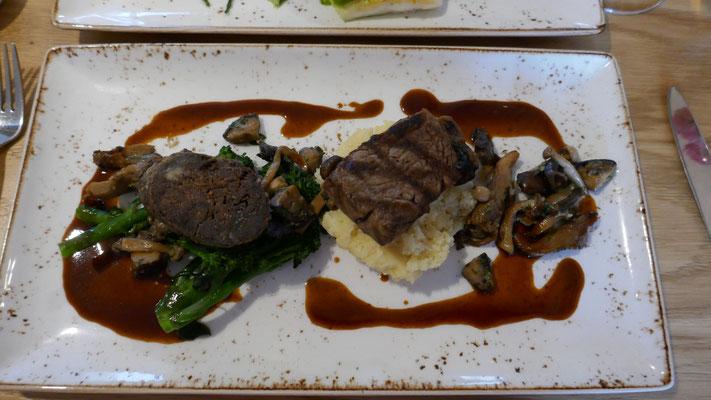 Feines Nachtessen im Tolbooth Restaurant