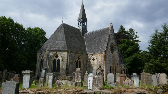 Kirche in Luss am Loch Lomond