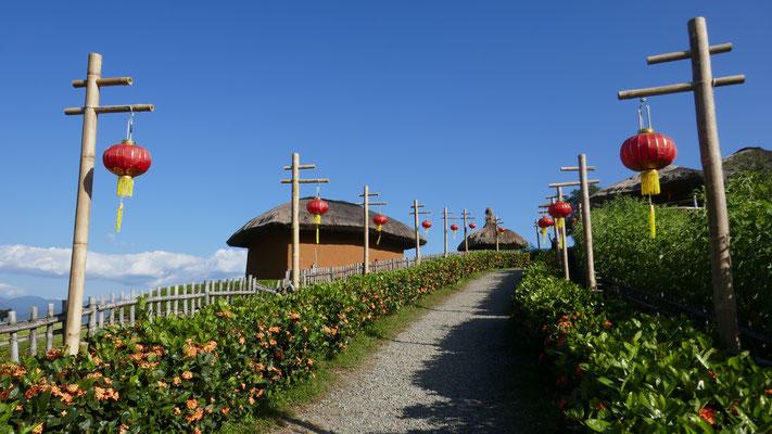 Chinesischer Aussichtspunkt in Pai