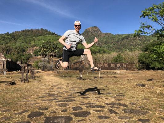 Vat Phou, Laos, 1. Januar 2020