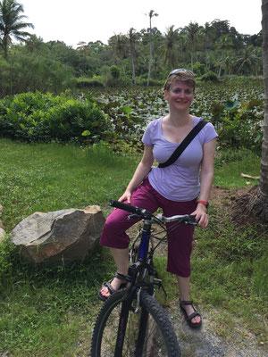 Mit dem Fahrrad auf Pulau Ubin