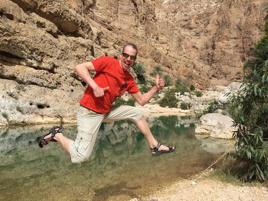 Wadi Shab in Oman 2016