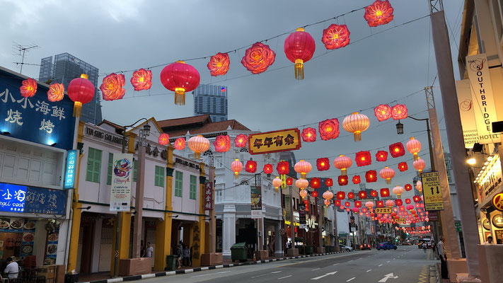 Im China Town in Singapur