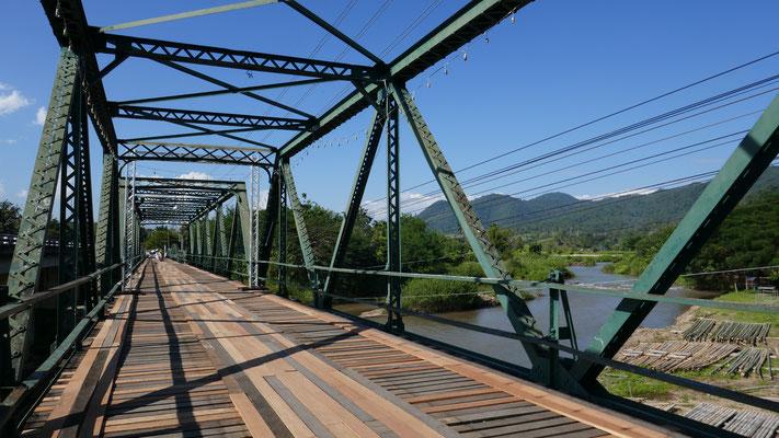 Pai Historical Bridge aus dem 2. Weltkrieg