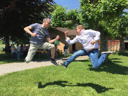 Fight Jump mit Kenn Graf am Grafenfest 2017 in Nänikon
