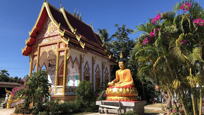 Tempel in Champasak