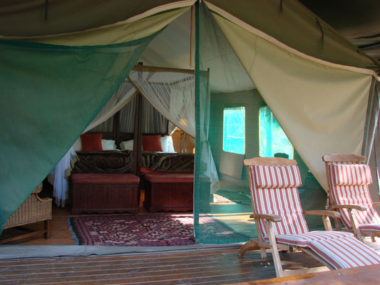 Unsere Unterkunft in Botlierskop (Private Game Reserve & Safari Park)